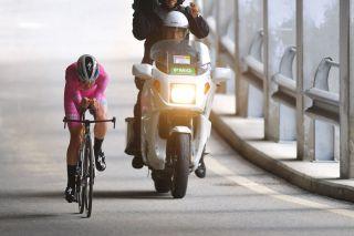 Anna van der Breggen (SD Worx) during the time trial at the Giro d'Italia Donne