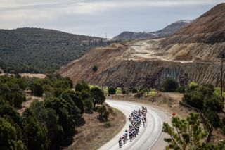 Scenery along the route of stage 5 at Tour of the Gila