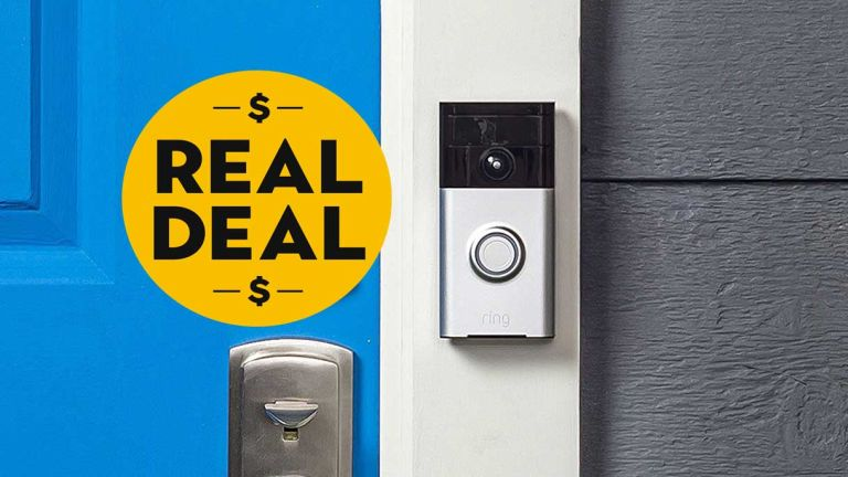 Ring Doorbell Wi-Fi Enabled 720p HD