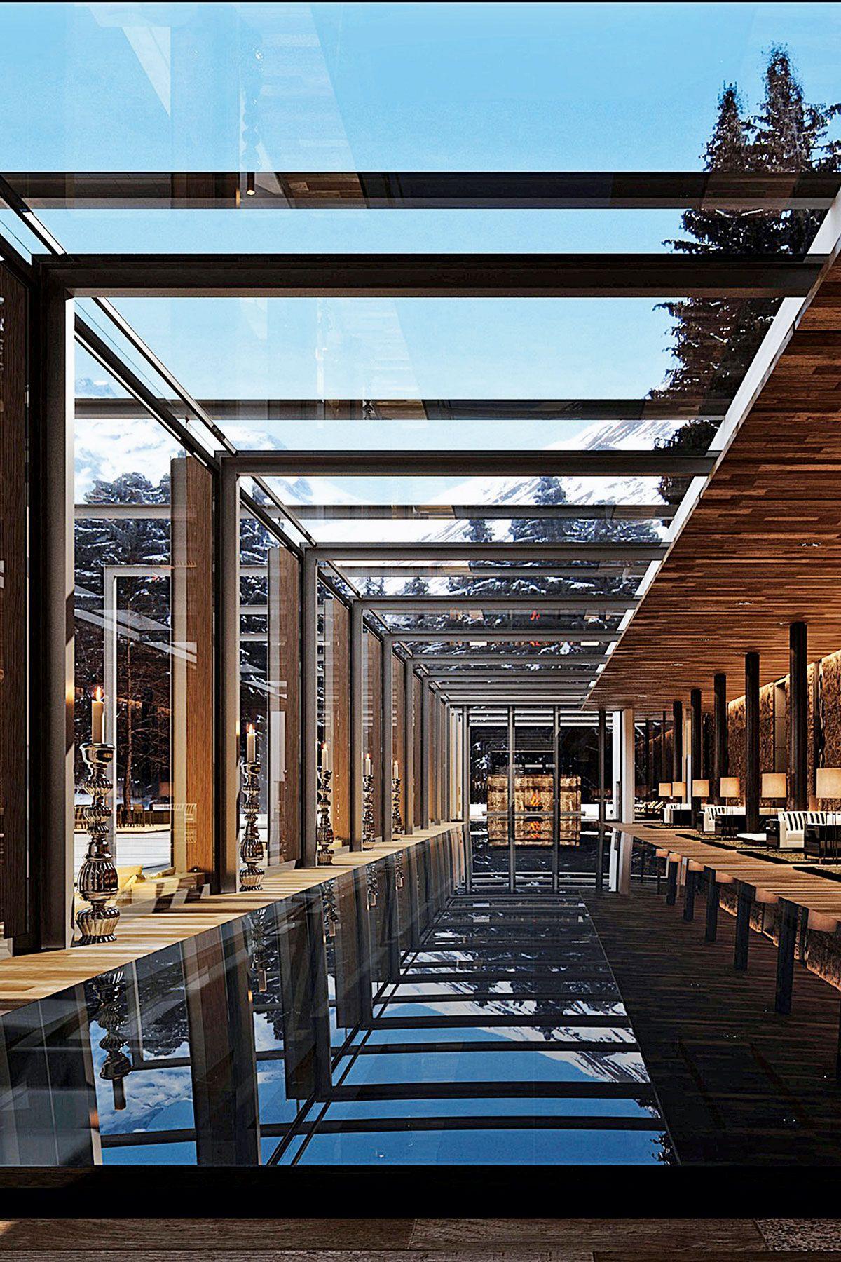 Step inside these 3 most stylish ski hotels