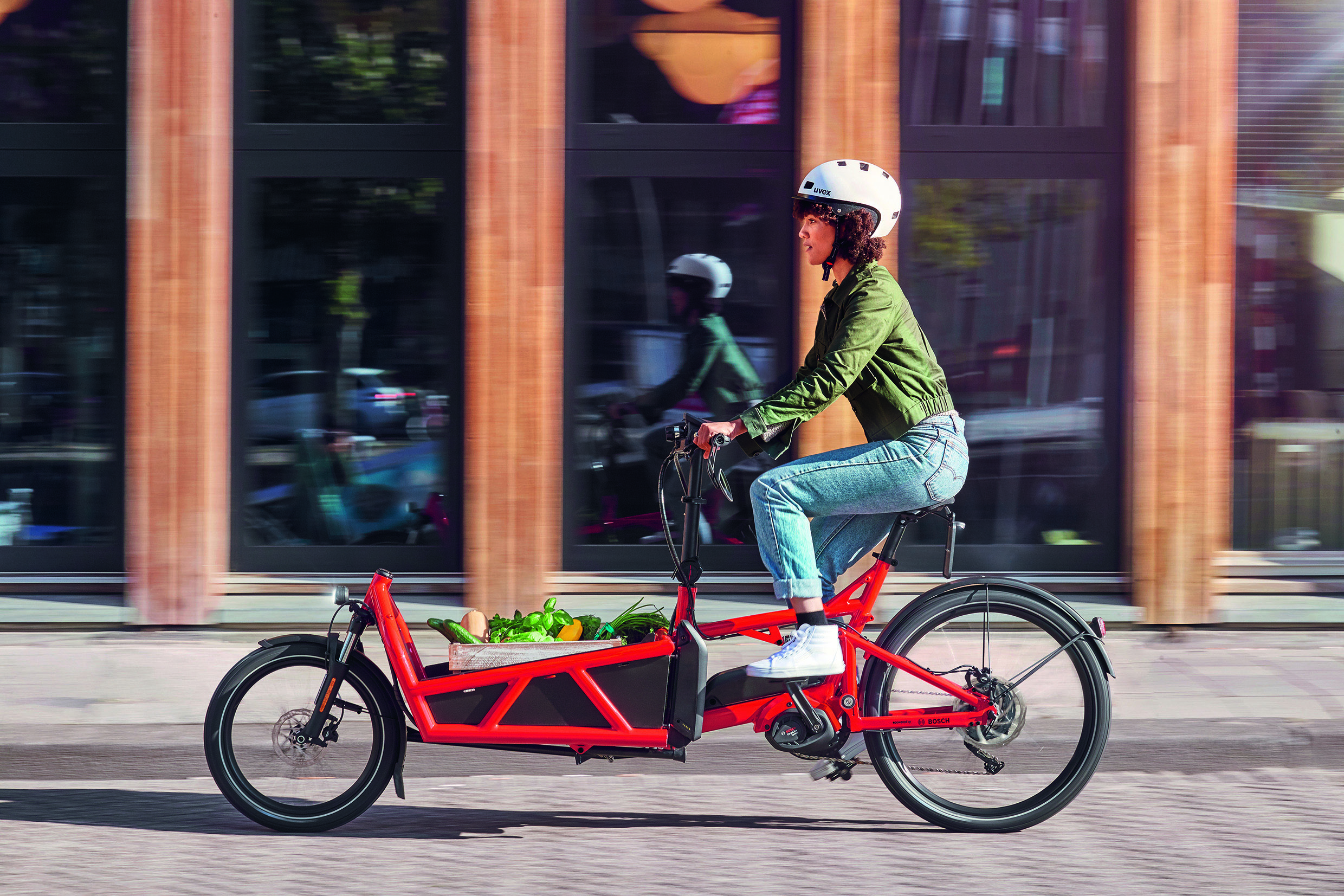 pedal an electric bike