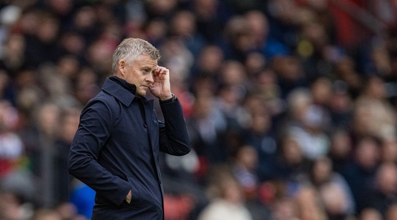 Ole Gunnar Solskjaer could be approaching his final week as Manchester United boss - report