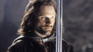 An image of Lord of the Rings' Aragorn