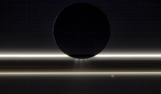 Enceladus and Saturn's ring