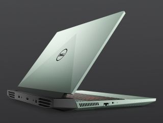 Dell G15 in green.