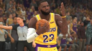 A screenshot of NBA 2K20.