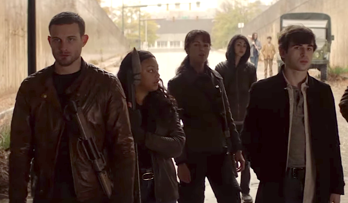 walking dead world beyond characters with percy