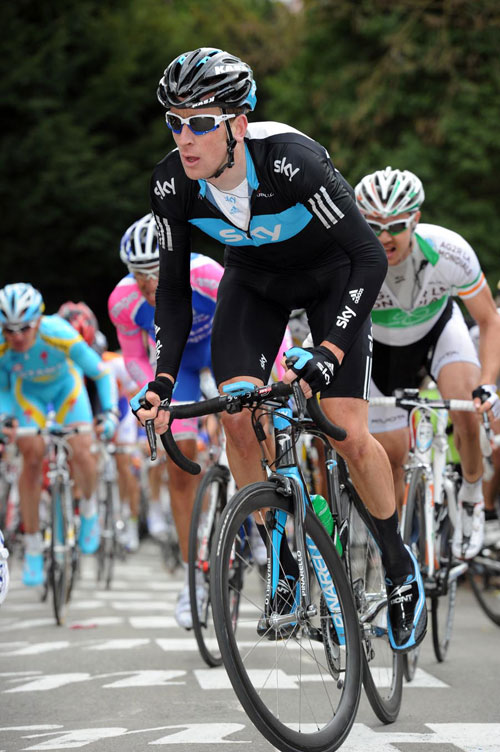 Bradley Wiggins, Fleche Wallonne 2010