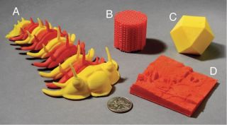 These models were 3D-printed at the GeoFabLab at Iowa State University