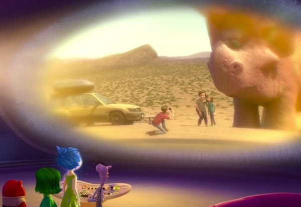 Inside Out Easter egg The Good Dinosaur