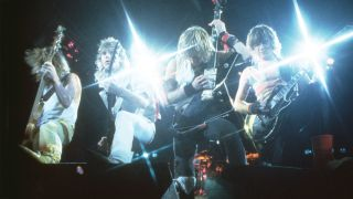 A photograph of Def Leppard