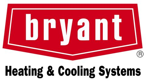 Bryant central air conditioners review: Image of the Bryant logo in red with white lettering