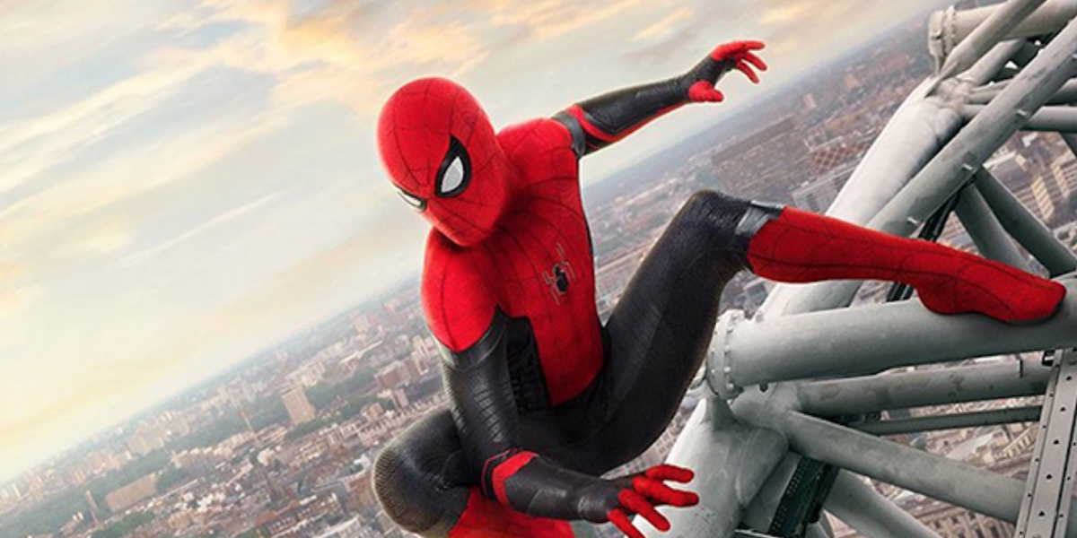 Spider-Man's Far From Home poster