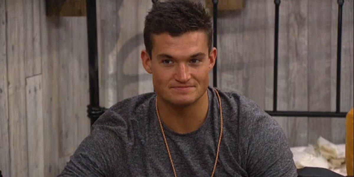Big Brother 21 Jackson smiles as HoH
