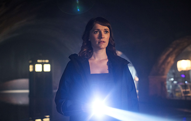 Doctor Who guest star Charlotte Richie as Lin in the New Year's Day episode