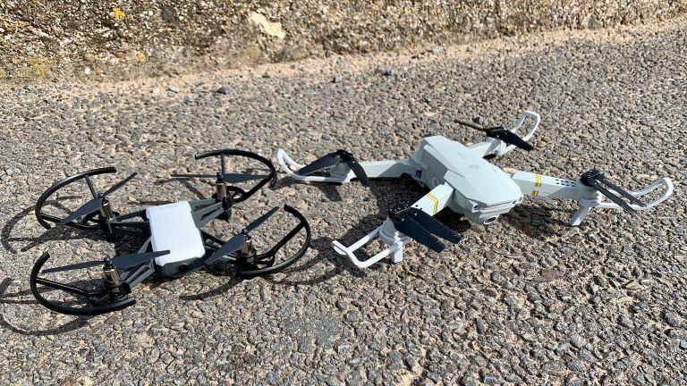 Ryze Tello vs Eachine E58 Pro drones