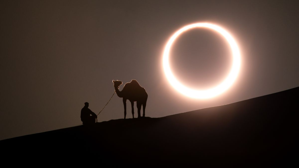 The 'ring of fire' solar eclipse of 2020 occurs Sunday. Here's how to watch online.