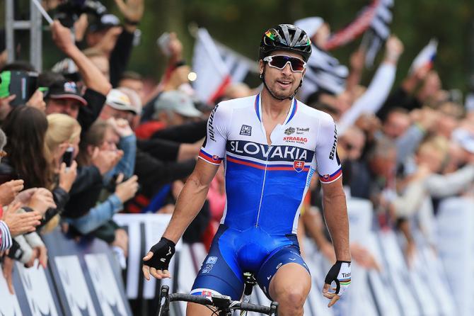 Peter Sagan wins the European championships