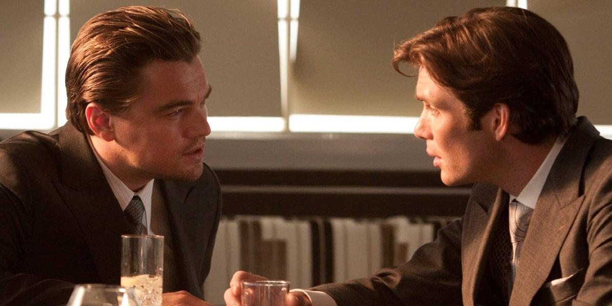 Leonardo DiCaprio and Cillian Murphy in Inception