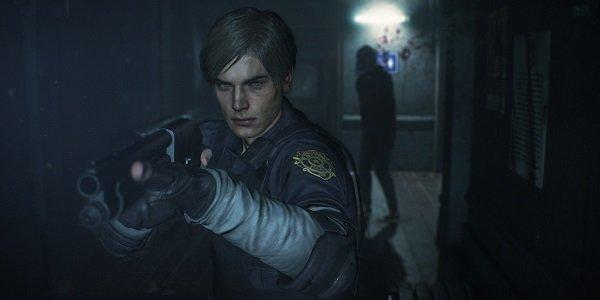 Leon Kennedy in Resident Evil 2.