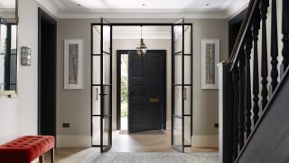 a front door from the entrance hall