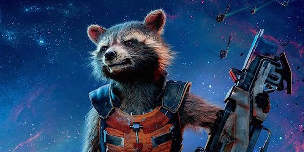 Rocket Raccoon in Avengers Infinity War