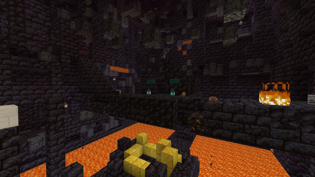 Minecraft Bastion Remnants guide   PC Gamer