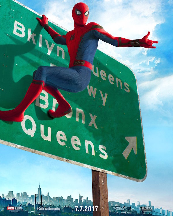 Spider-Man: Homecoming < Spidey on highway sign