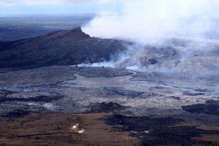 Kilauea Vent, volcano