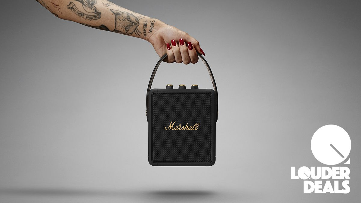 Own a rock icon in miniature with £51 off the portable Marshall Stockwell 2 speaker for Prime Day