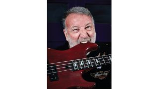 """Peter Hook: """"I've never liked to be hidden, and I don't like to be patronised. I don't buy into the idea that the bass player is the quiet one"""" 