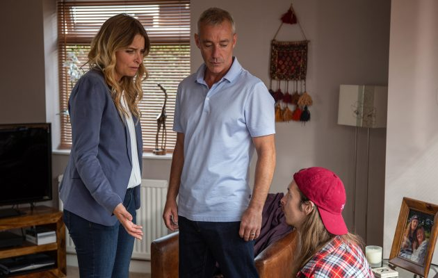 Emmerdale spoilers! Charity Dingle finds her son Ryan talking to his rapist dad DI Bails