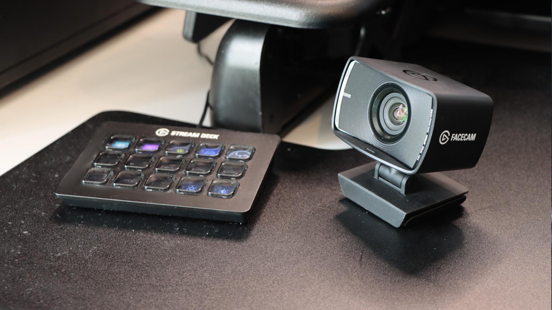 Elgato Facecam and Elgato Streamdeck