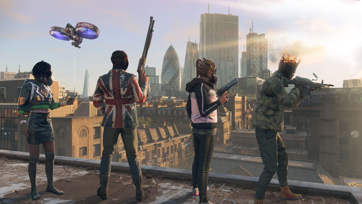 Watch Dogs Legion simulates jobs, work schedules, and [checks notes]  hiccups and mime in its digital London | GamesRadar+