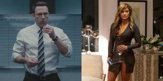 Ben Affleck and Jennifer Lopez side by side