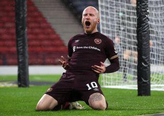 Heart of Midlothian v Hibernian – William Hill Scottish Cup – Semi Final – Hampden Park