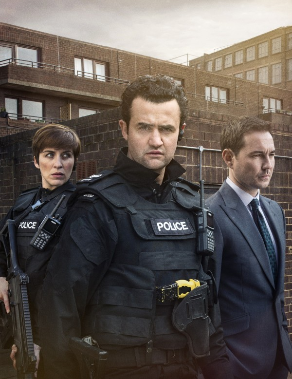 Vicky McClure, Daniel Mays and Martin Compston