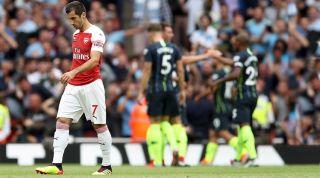 Mkhitaryan Arsenal Man City