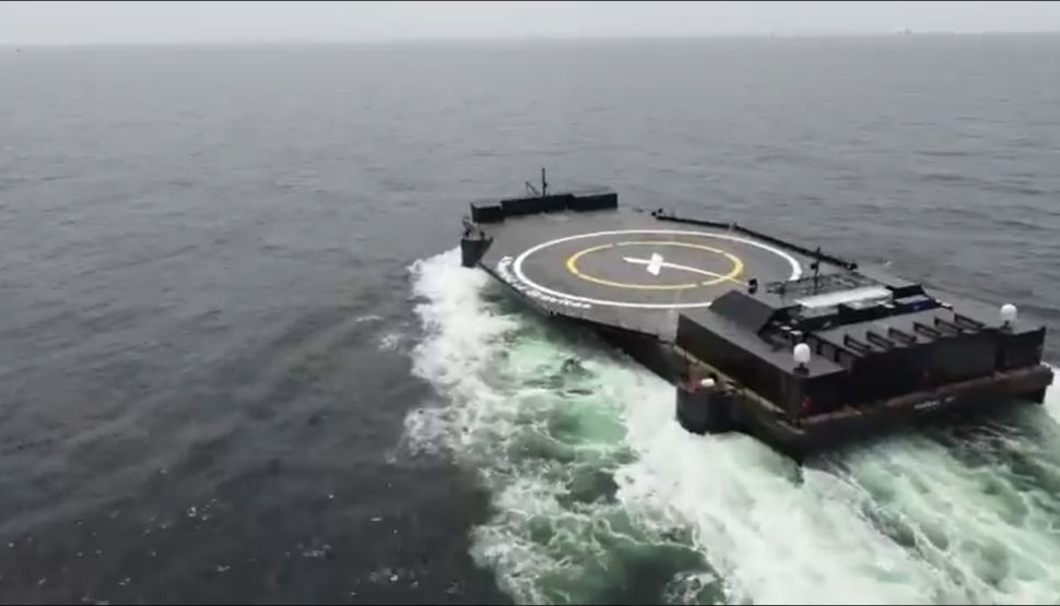Elon Musk unveils SpaceX's newest drone ship for rocket landings at sea