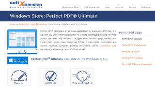 Perfect PDF Ultimate - A beginner-friendly PDF editing suite
