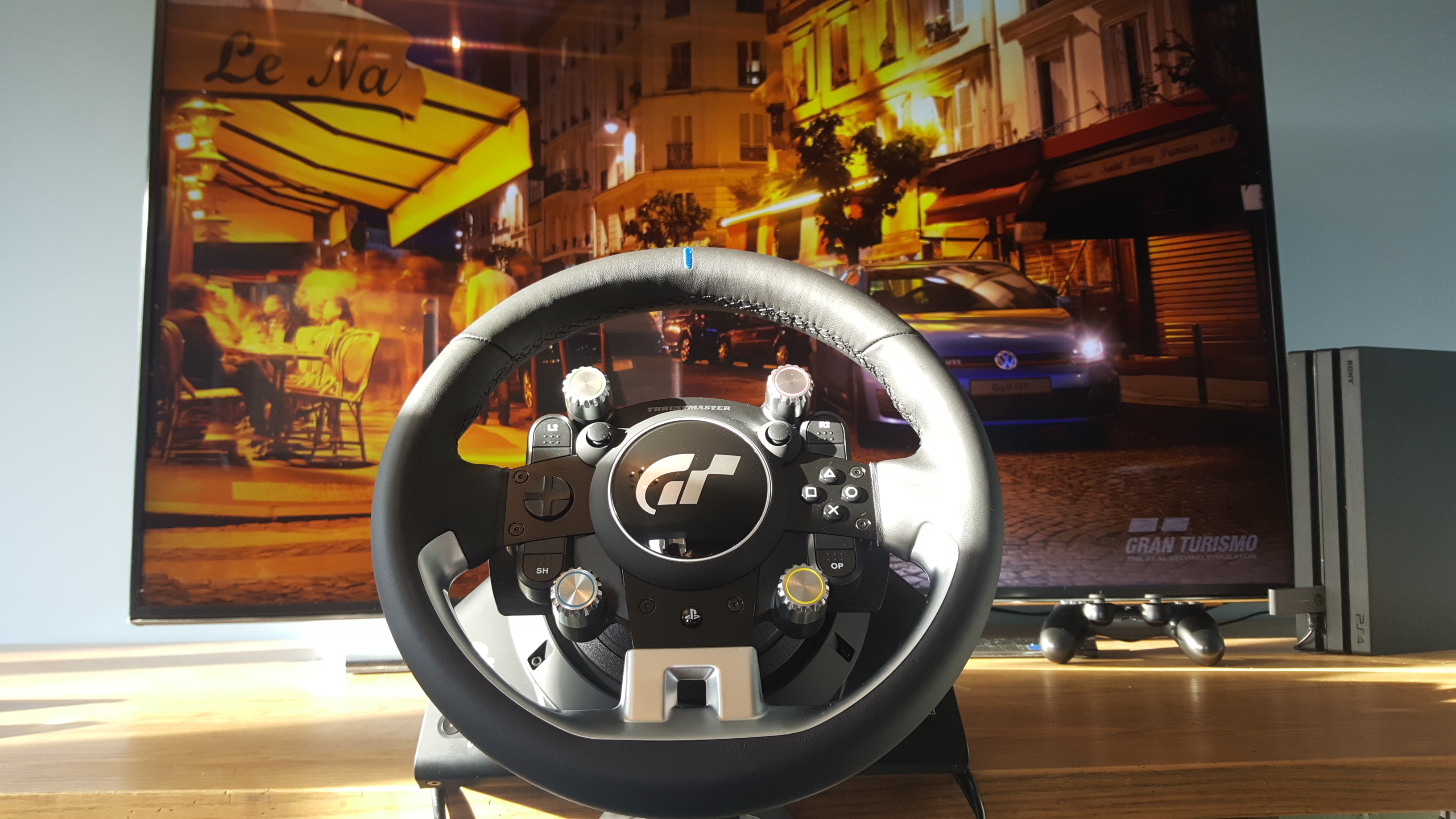 Thrustmaster T Gt Review A Fantastic Premium Racing Wheel That Will Leave Enthusiasts Drooling T3