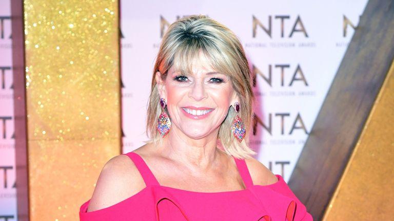 Ruth Langsford during the National Television Awards at London's O2 Arena.