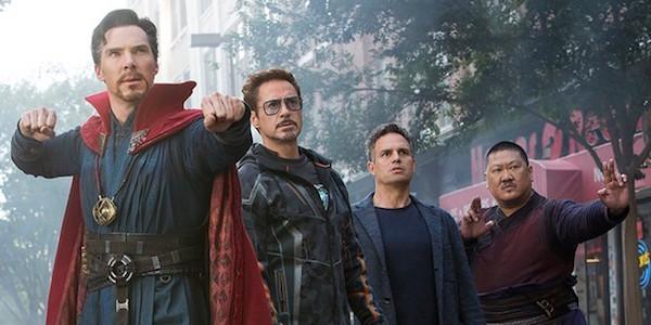 Strange, Stark, Banner, and Wong