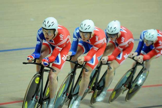 Team GB men's pursuit