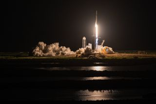 SpaceX's all-private Inspiration4 mission lifted off successfully on Sept. 15, 2021.