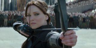 The Hunger Games: Mockingjay Part 2 Katniss takes aim