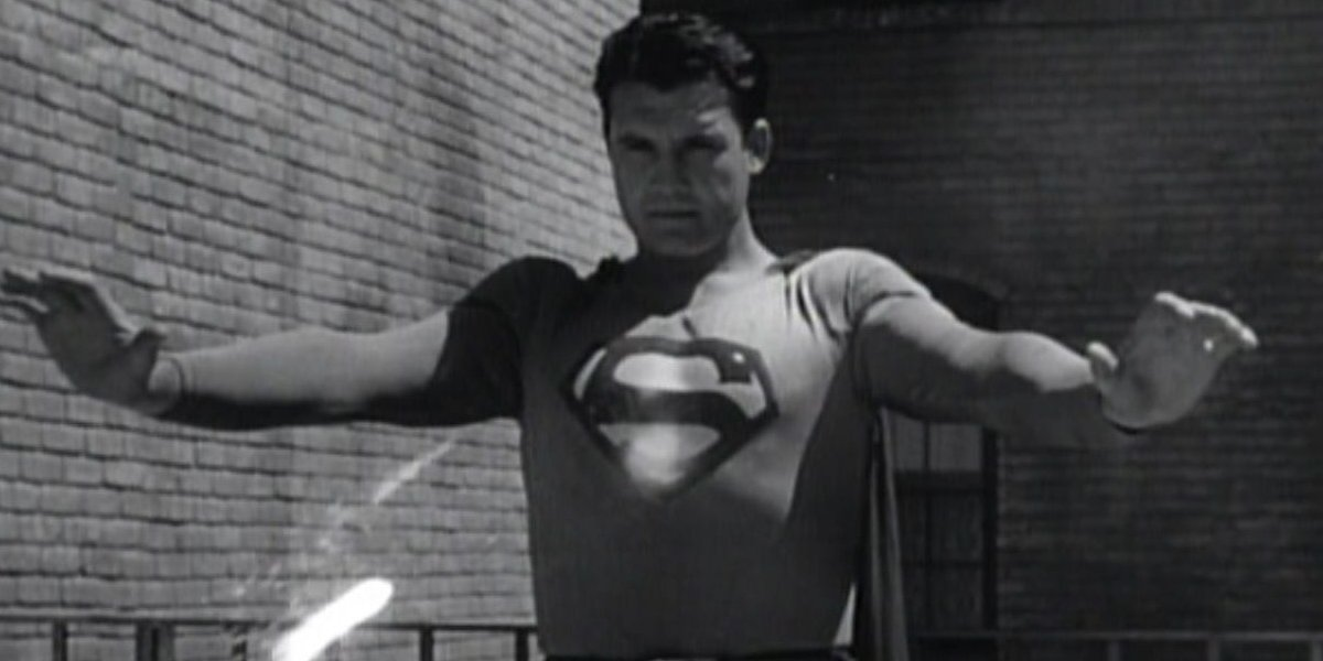 George Reeves in Superman and the Mole Men