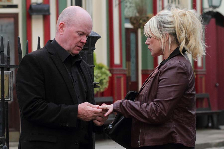 Phil gives Sharon an engagement ring!