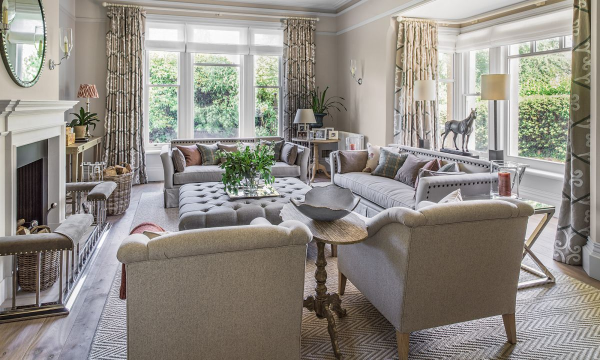 This stunning family home exudes charm and elegance