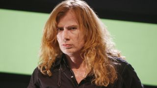 A close-up of Dave Mustaine